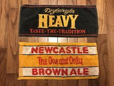 Newcastle Brown Ale & Drybroughs Heavy Beer Bar Towels 8 X 18 (Nc10)