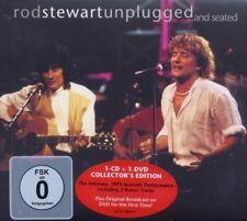 "ROD STEWART ""UNPLUGGED...AND SEATED"" CD+DVD NEU"