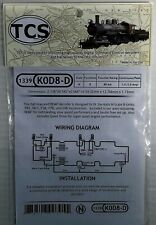 Train Control Systems N-Scale DCC Decoder K0D8-D for KATO Item #1339
