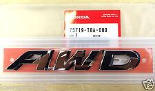 Genuine OEM Honda CR-V AWD Emblem 2012 - 2016 75719-T0A-000 Pilot Ridgeline CRV