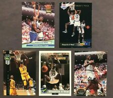 1992 SHAQUILLE ONEAL Rookie  LOT ~ Ultra ~ Stadium Club ~ Upper Deck ~ 5 cards