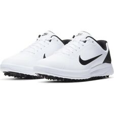 New listing New Nike Infinity G Men's Size 8 Leather Golf Shoes White-Black CT0535-101