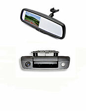"Tailgate Backup Camera & 4.3"" Mirror Monitor for 2009-2017 Dodge Ram Trucks"