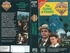 DOCTOR WHO - THE CURSE OF FENRIC - TIME-LIFE PAL VHS