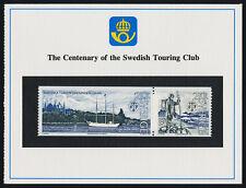 Sweden 1545a on Presentation Card - Ship, Swedish Touring Club