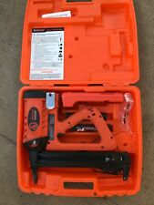 New Listingramset Tf1200 Trakfast Fastener Gun Tool System With Batteries Amp Charger Nice
