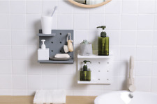 Wall Décor Storage Stand Nail Free Adhesive Board Home DIY Free Style
