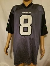 f12c091fd Matt Hasselbeck Seattle Seahawks NFL Players Reebok Blue Jersey Mens XL EUC
