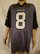 88278c37a Matt Hasselbeck Seattle Seahawks NFL Players Reebok Blue Jersey Mens XL EUC