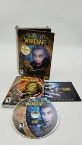 WORLD of WARCRAFT (PC/MAC DVD-ROM) With Manual & Catalog