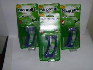 Nicorette - 4mg Nicotine Mini Lozenge - Mint Flavor 80 Ct. Exp 5/21