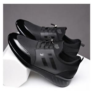 Mens Air Genuine Leather Sneakers