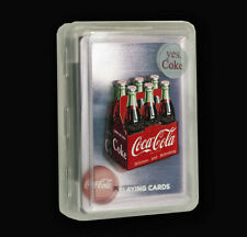 Coca-Cola Clear Playing Card Deck - Waterproof! - Great by the pool!