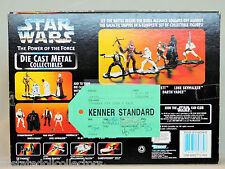 Star Wars POTF2 Die-Cast 6 Pk KENNER STANDARD Final QC Pre-Production Prototype