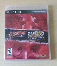 PS3 STREET FIGHTER X TEKKEN + SUPER STREET FIGHTER ARCADE EDITION 2 GIOCHI NTSC