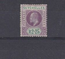 Mint Hinged Postage Seychellois Stamps (Pre-1976)
