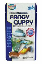 (3 Pack) Hikari Fancy Guppy Food 0.77 oz Semi-Floating Granules - Tropical Fish