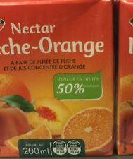 lot revendeur destockage 48 Nectar De Pêches Orange Format Individuel