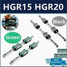 Hgr15 Hgr20 2x Linear Rail Guide4x Hgh15ca Hgh20ca Block Hgh15 Hgh20 200 2000mm