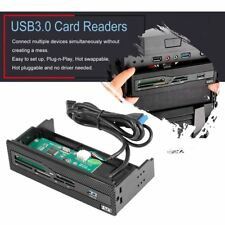 USB 3.0 Front Panel Memory Card Reader For Floppy PC Bay SD, TF, CF, MD, M2, MS