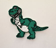 New Toy Story Rex Patch Iron On Embroidered Cartoon Dinosaur USA Free Ship
