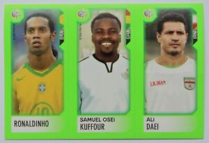 2006 Panini World Cup Germany Ministicker Ronaldinho - Mini Sticker Investment
