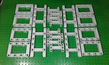20 x Lego Technic genuine new stone grey studless frames spare part's job lot
