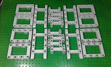 20 x lego technic genuine new gris pierre crampon cadres pièce de rechange's job lot