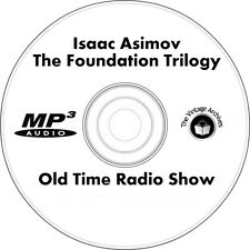 Isaac Asimov - The Foundation Trilogy - OTR MP3 CD - Old Time Radio Show