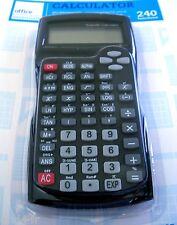 Calculatrice scientifique 240 fonctions,NEUF/Scientific calculator 240 functions