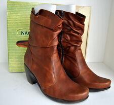 NEW In Box! NAOT Modesto Boots Cinnamon Brown US 10, EU 42 Mid Calf $220