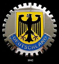 GERMAN GRILLE  BADGES - DEUTSCHLAND(EAGLE)
