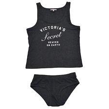 Victoria's Secret Tank Top & Panty Lounge Pajama PJ Set Heaven on Earth S