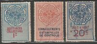 France Moroc Morocco Revenue Fiscal Stamp mx-140 some w/ postal cancels as seen