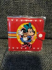 Minnie Mouse Wallet Coin Purse Key ID Card Bag Vintage Stock Late 90's