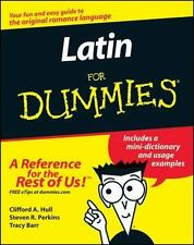 NEW - LATIN FOR DUMMIES by Clifford A. Hull, Steven R. Perkins & Tracy Barr 2002