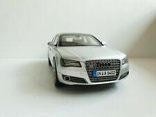 Audi A8 W12 L D4 6.0 1/18 grise silver Kyosho Dealer audi 5011008115