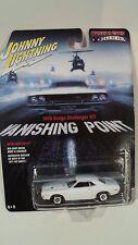 JOHNNY LIGHTNING 1:64  VANISHING POINT* 1970 DODGE  CHALLENGER R/T*  MUSCLE CARS