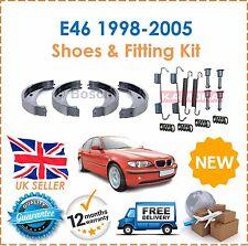 For BMW E46  316 318 320 323 325 98-05 Rear Handbrake Shoes & Fitting Kit New