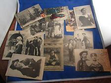 lot 20 cpa costumes folklorique coiffe et divers carte postale