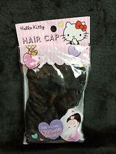 Hello Kitty Black Hair Cap 15x17in Sanrio