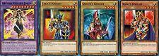 ARCANA-KNIGHT-JOKER Fusion set: Jacks_ king's_Queen's-knight YUGIOH 1st Muto