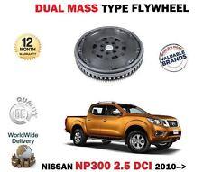 Para Nissan Navara NP300 D40 2.5 dCi 4WD 2010 - > Manual de los modelos de Doble Masa Rígida Volante
