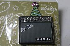 NEW Hard Rock Cafe Pin MARBELLA 2015 Happy New Year