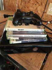 Xbox 360S Console, 4 Games & Controller