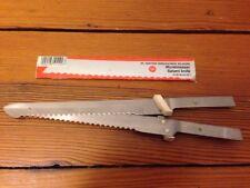 "Wusthof Solingen Wustmesser Salami Knife Steel Serrated Electric Carver Blade 6"""