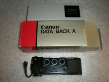 Canon DATA BACK A for Canon AE-1 A-1