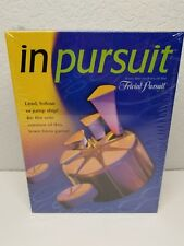 Hasbro Trivial Pursuit- In Pursuit Question and Answer Board Game New Sealed Box