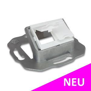 NEXANS N423.702N Datendose Netzwerkdose 2-Port Snap-In RJ45 weiss (leer)