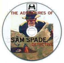 The ADVENTURES of SAM SPADE (OTR) Old Time Radio (mp3 CD) Humphrey Bogart